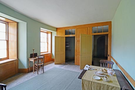 Housekeeper's Room showing windows and walk-in cupboard.
