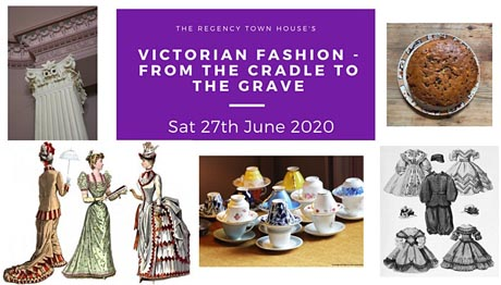 Poster for Victorian Fashion - from the cradle to the grave
