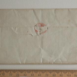 Bevan letter - 1820s - back
