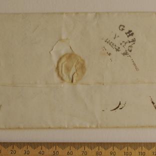 Bevan letter - 8 Jul 1824 - back