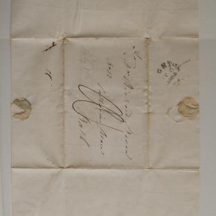 Bevan letter - 8 Jul 1824 - second unfold front