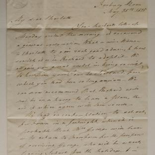 Bevan letter - 25 May - second unfold back