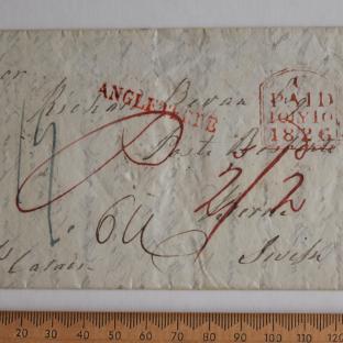 Bevan letter - 8 Jul 1826 - front