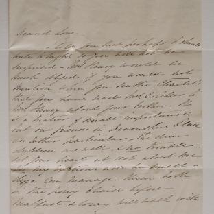 Bevan letter - 17 Aug 1831 - second unfold back