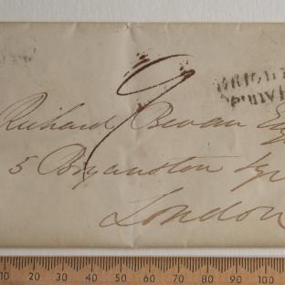 Bevan letter - 17 Aug 1831 - front