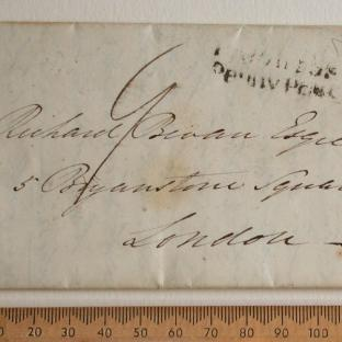 Bevan letter - 18 Aug 1831 - front