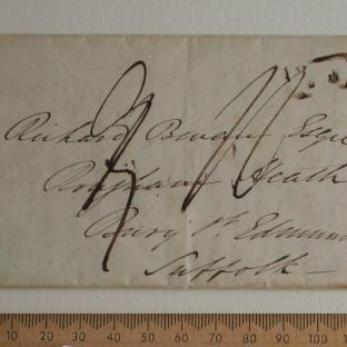 Bevan letter - 15 Jun 1834 - front