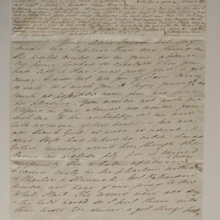 Bevan letter - 15 Jun 1834 - second unfold back