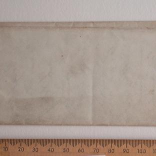Bevan letter - 8 Mar 1849 - back