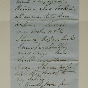 Bevan letter - 18 Nov 1856 - page four