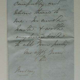 Bevan letter - 21 Nov 1856 - page four