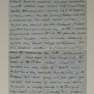 Bevan letter - 24 Nov 1856 - page four