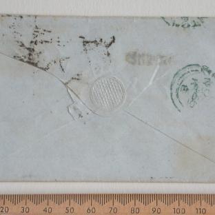 Bevan letter - 26 Nov 1856 - back
