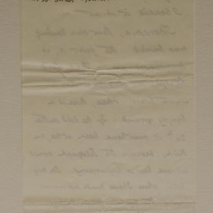 Bevan letter - 6 Dec 1856 - first letter page six