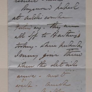 Bevan letter - 6 Dec 1856 - page one