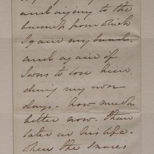 Bevan letter - 8 Dec 1856 - page four