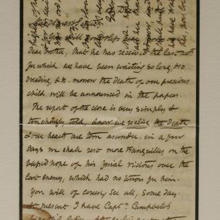 Bevan letter - 12 Dec 1856 - page one