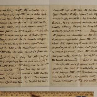 Bevan letter - 12 Dec 1856 - page two and three