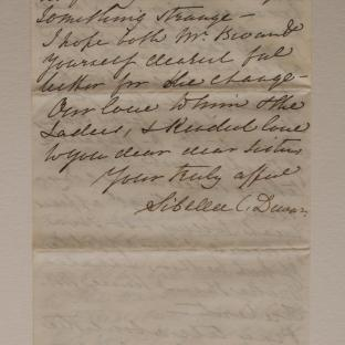 Bevan letter - 16 Dec 1856 - page eight