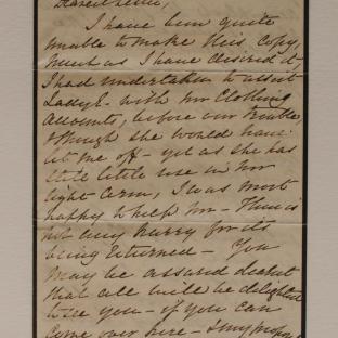Bevan letter - 19 Dec 1856 - page one