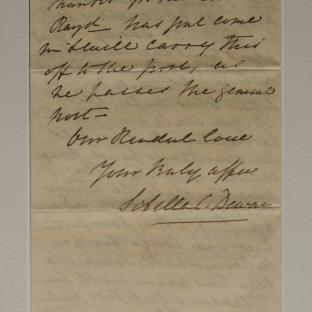 Bevan letter - 19 Dec 1856 - page four