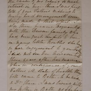 Bevan letter - 27 Nov 1870 - page four