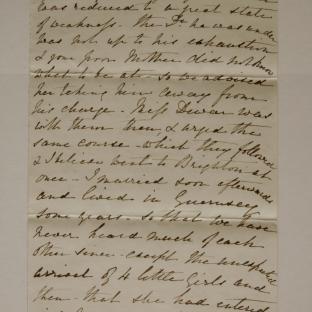 Bevan letter - 27 Nov 1870 - page five